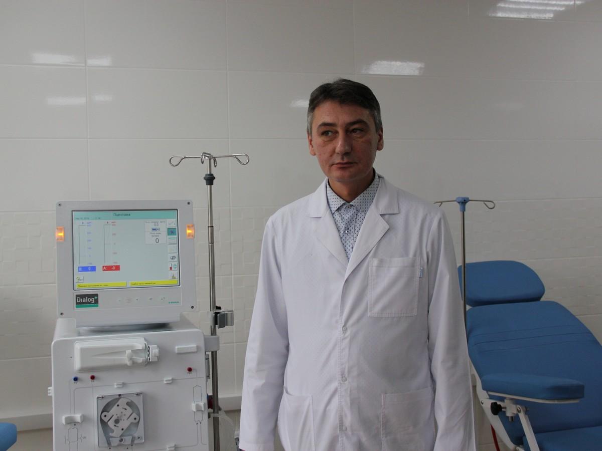 Главный врач Центральной районной больницы Андрей Палош