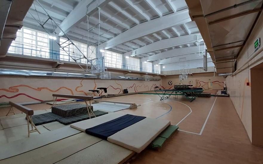 В Марганце завершили реконструкцию спортивной школы № 1