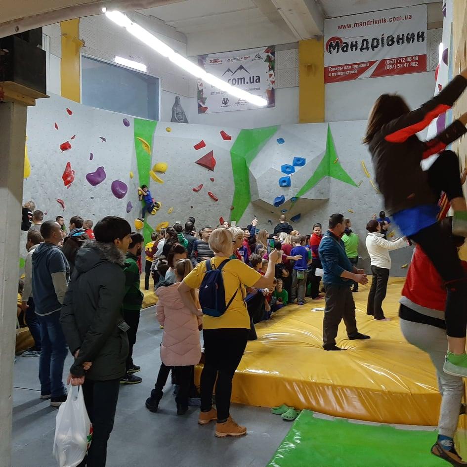 Скалолазы из Никополя привезли 17 медалей со Всеукраинских соревнований в Харькове