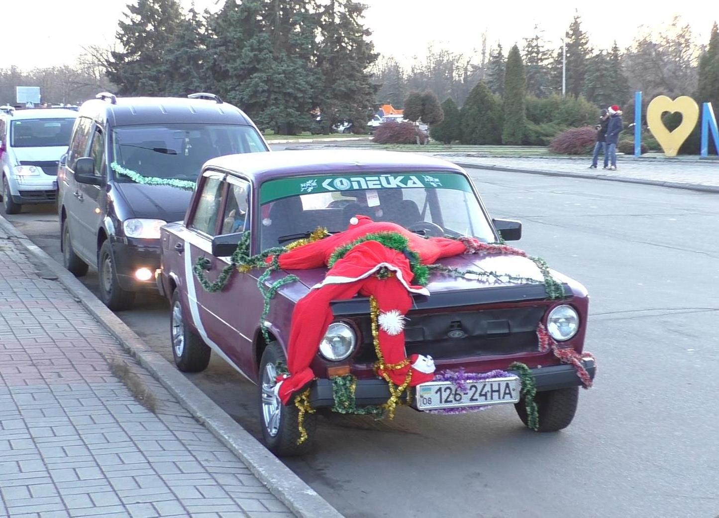 Хто переможець автопробігу в Нікополі?