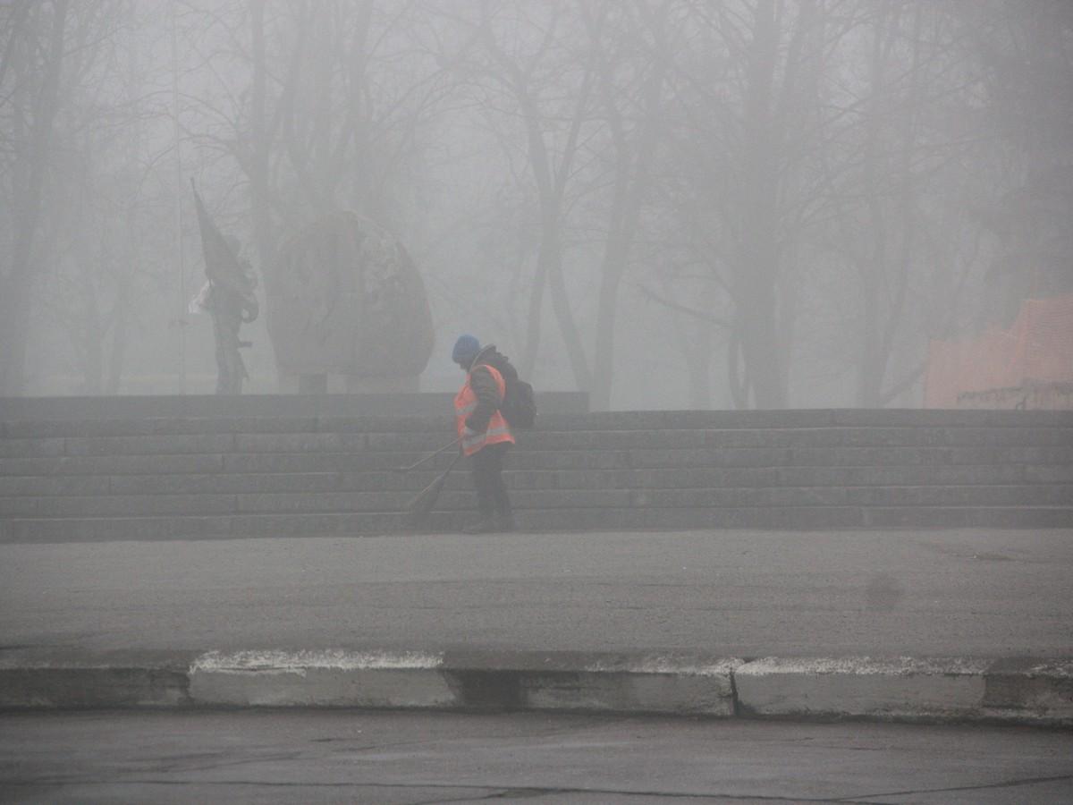 Коммунальщики в тумане