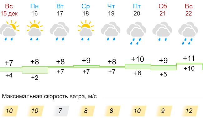 Якою буде погода на тиждень: в Нікополі очікуються дощі, готуйте парасольки!