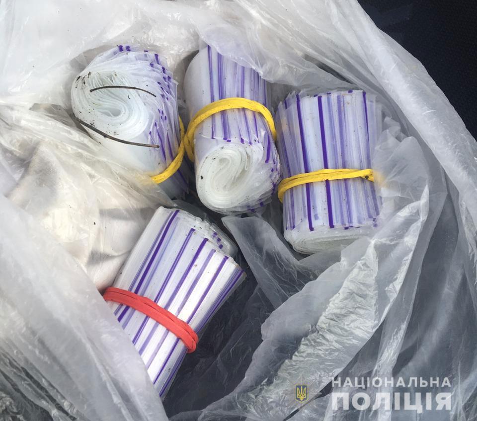 Метамфитамин в слип-пакетах