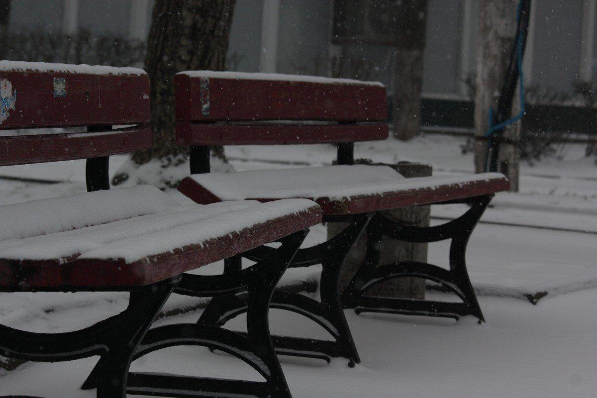 Много снега - 15 января 2018 года