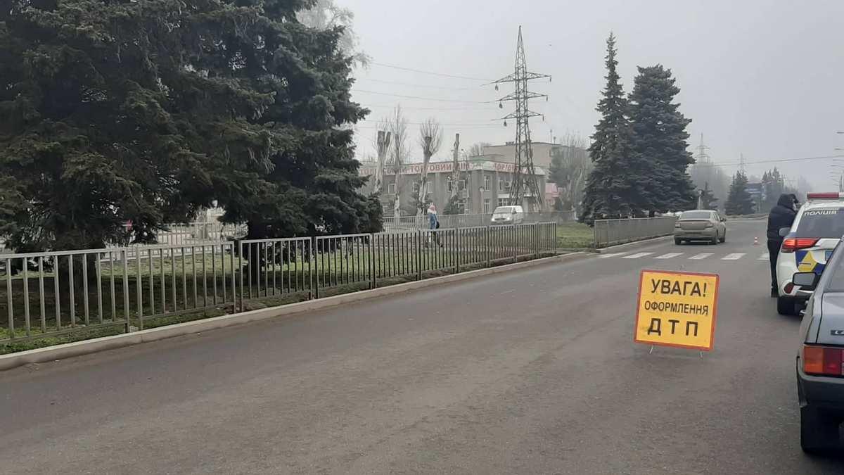 Пенсіонерку забив автобус в Нікополі