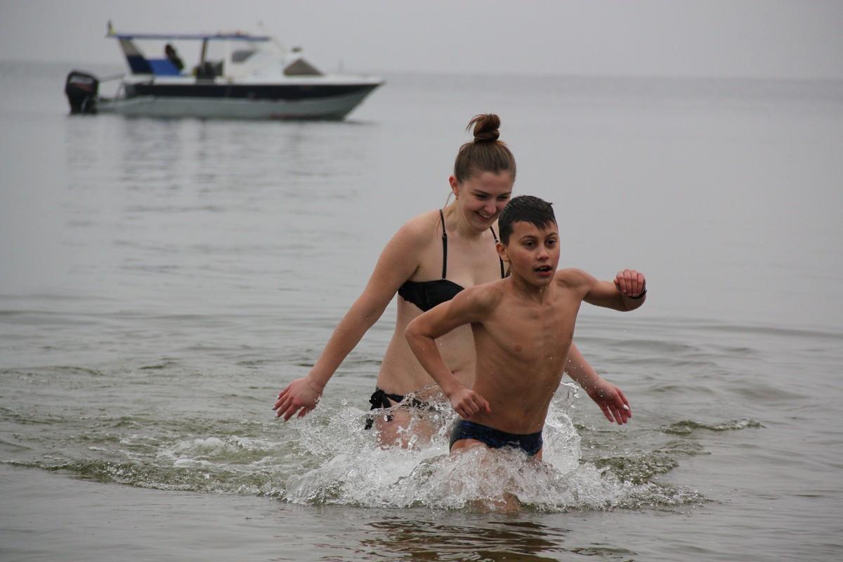 Хрещення без криги в Нікополі
