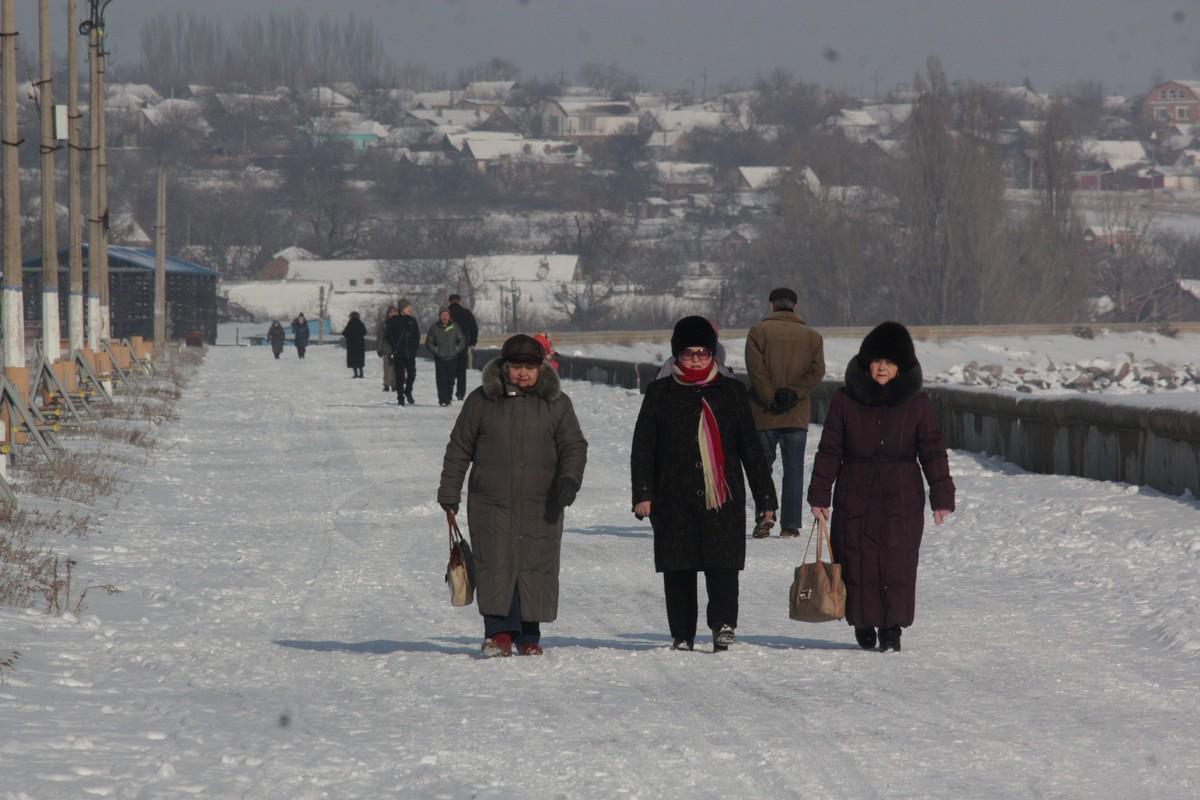Морозный день - 10 января 2019 года