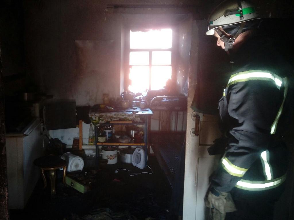 В Покрове во время пожара погиб 53-летний мужчина