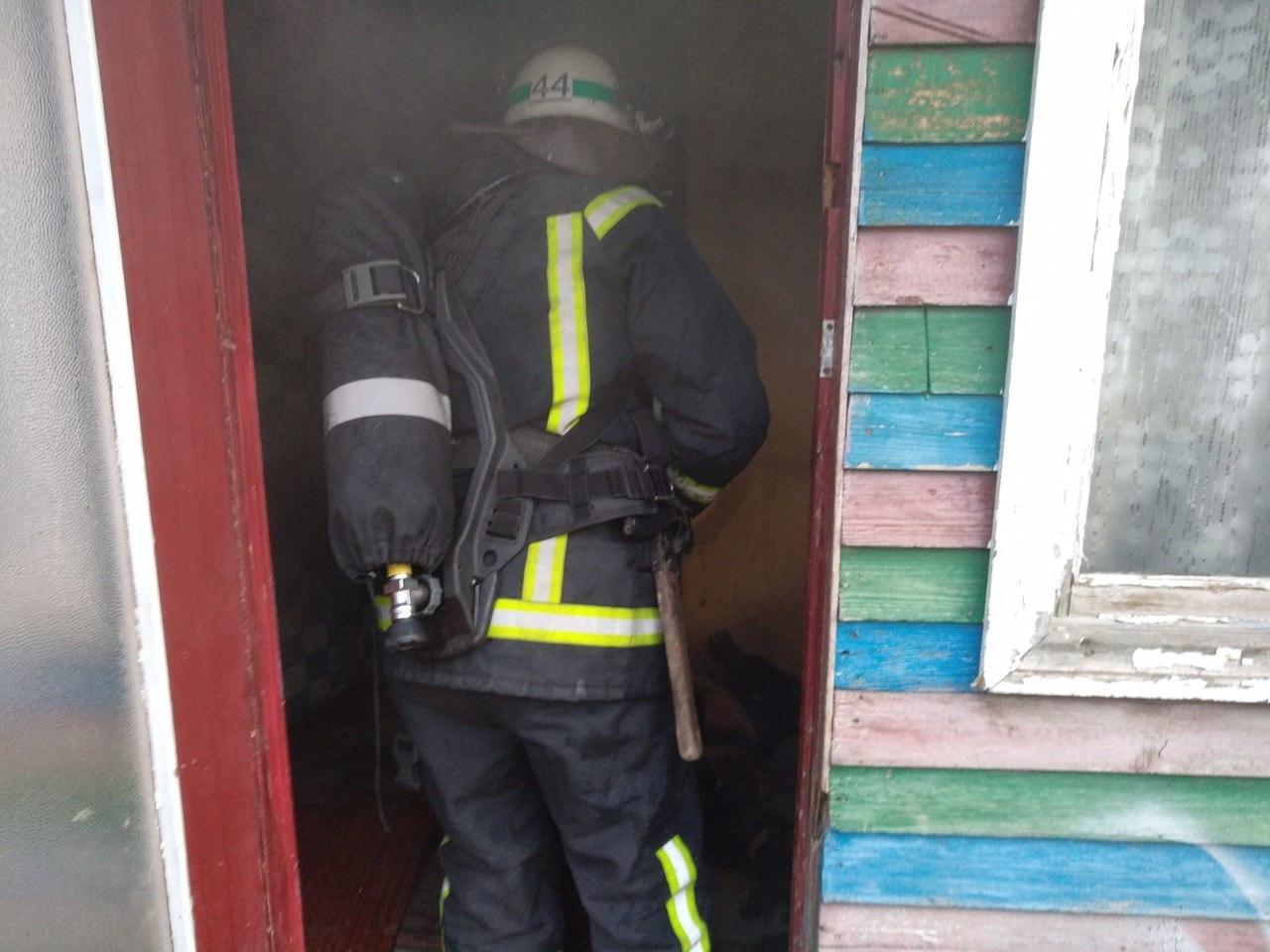Пожар унес жизнь 30-летнего мужчины