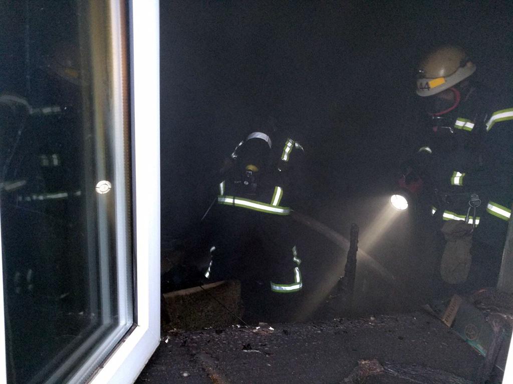 Причины пожара установят правоохранители