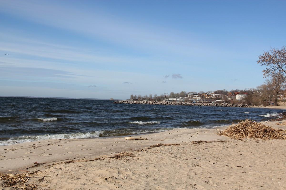 Як виглядає Каховське море в Нікополі?