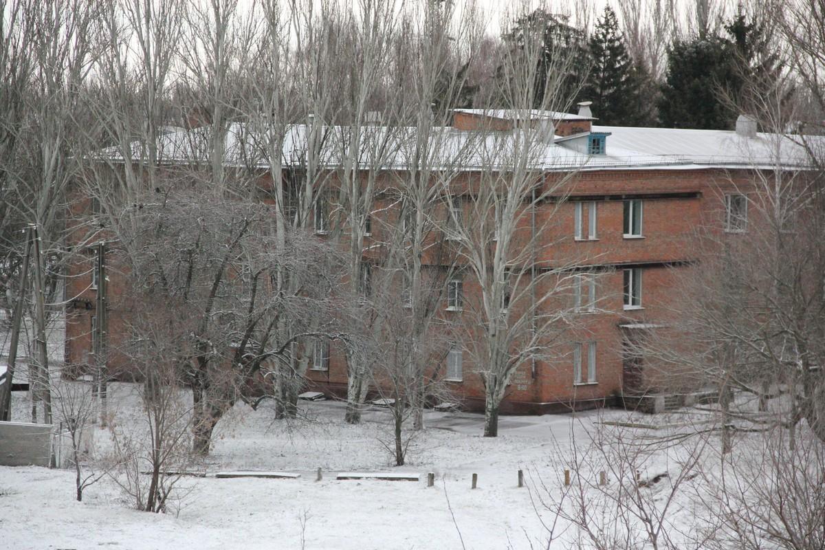 В Никополь пришла зима