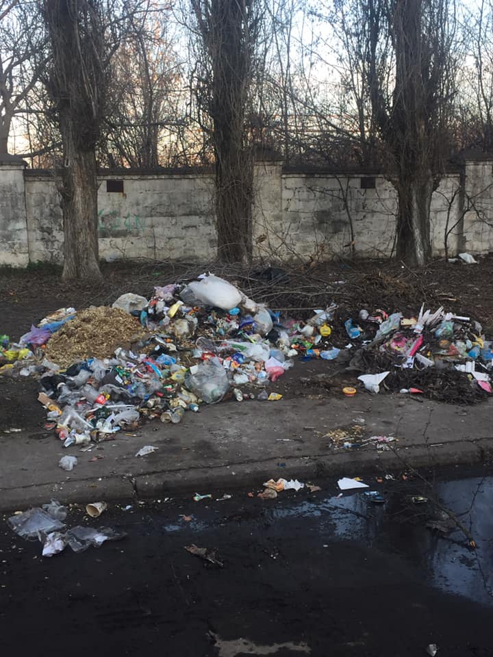 Кучи мусора