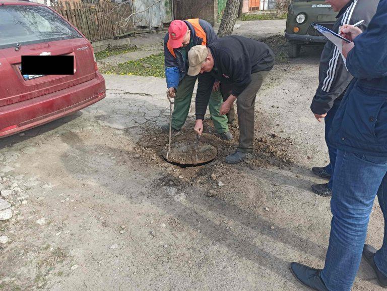 Самовольные, незарегистрированные присоединения к системам водоотведения обнаружили на улице Сагайдачного