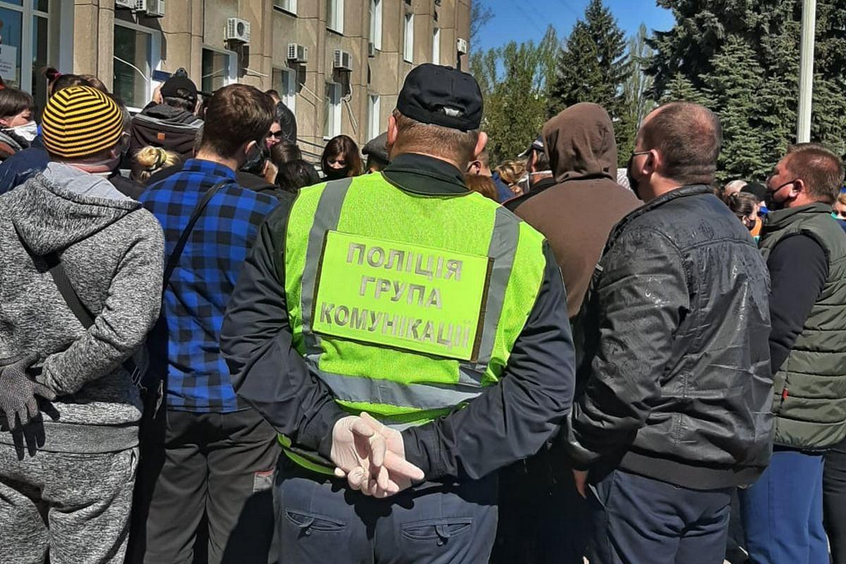 Великий протест у Нікополі: що сталося?