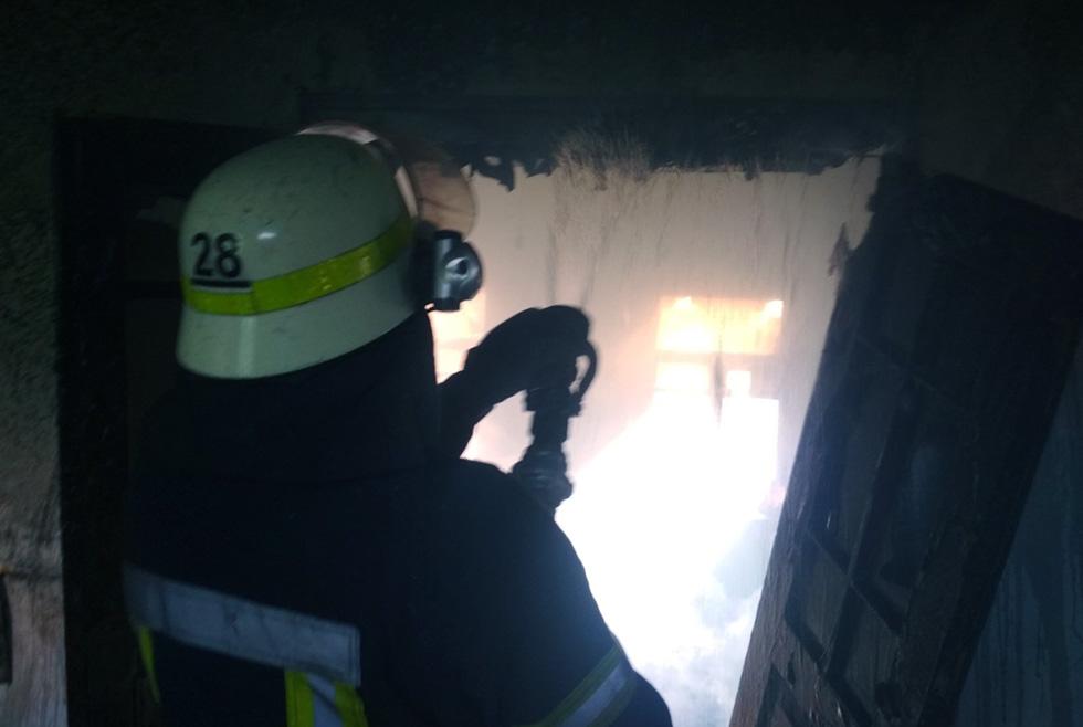 Пожар в доме на Маяковского