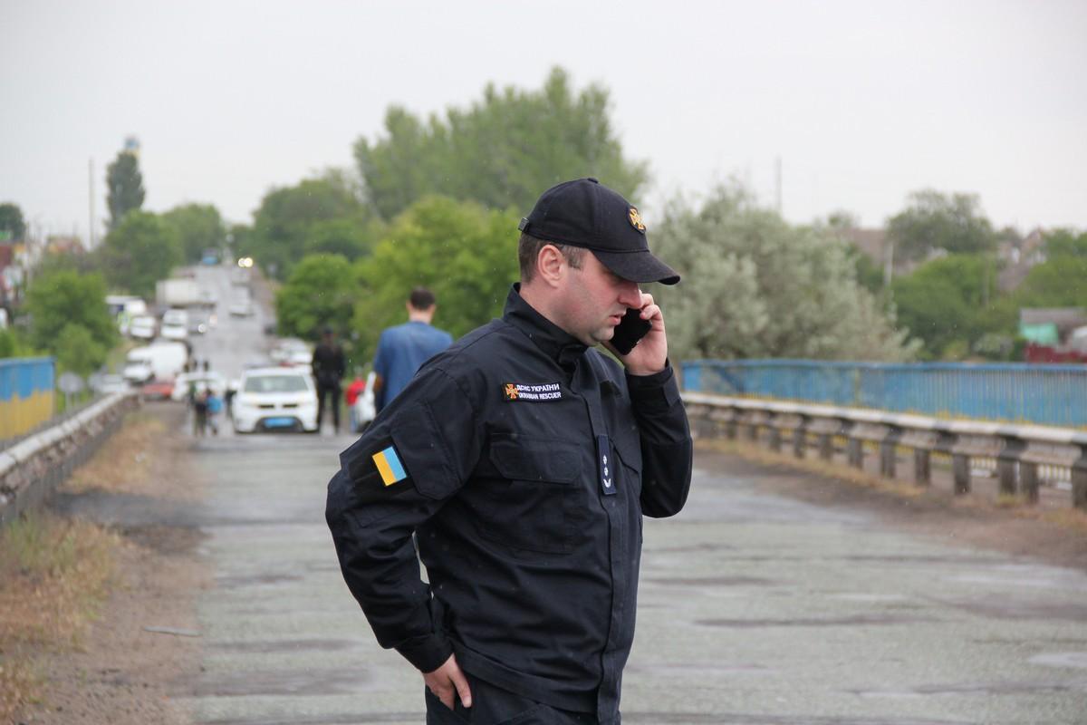 Начальник Никопольского межрайонного управления ГСЧС Константин Сегедий