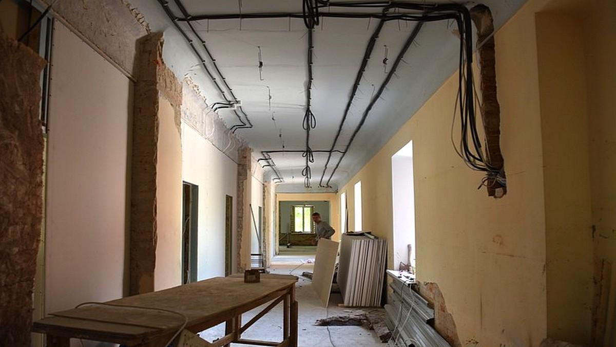У старій частині ремонт школи мистецтва