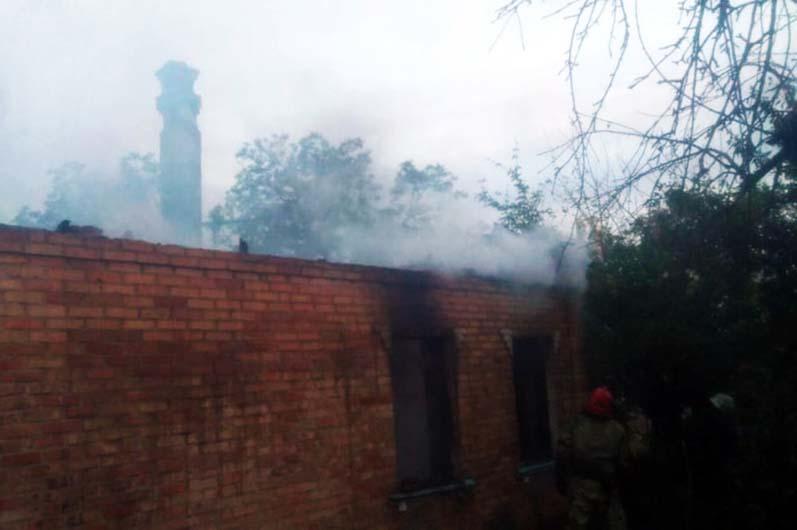 В Покрове в жилом доме случился пожар