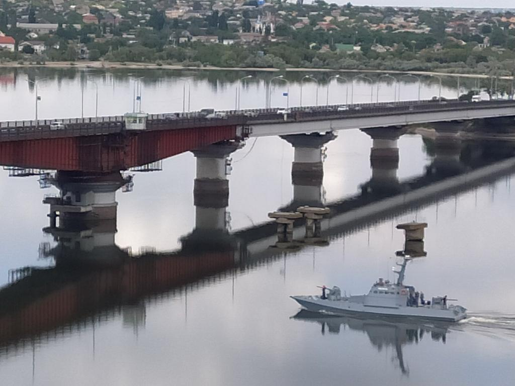 """Бронированный артиллерийский катер катер """"Никополь"""" вернулся на службу после ремонта"""