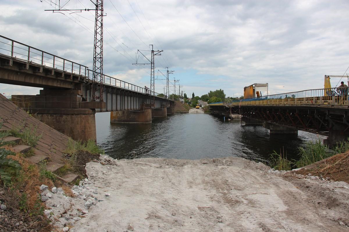 Военные установят понтонный мост