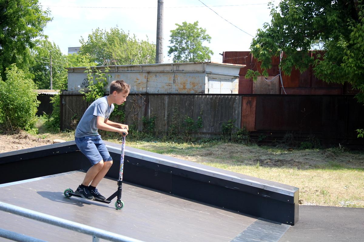 В Нікополі нарешті відкрили скейтпарк