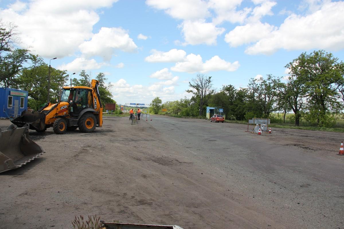 Ремонт дороги в направлении Никополя и Марганце не комментируют