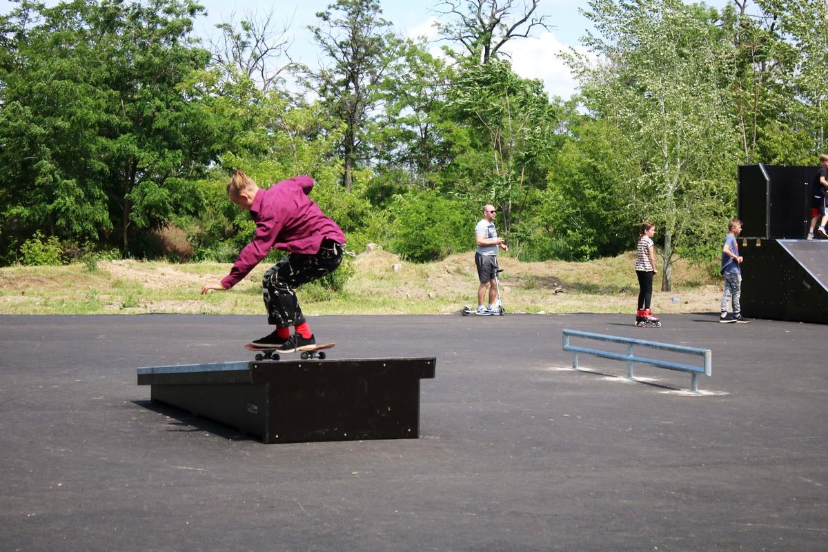 Скейт-парк в Никополе