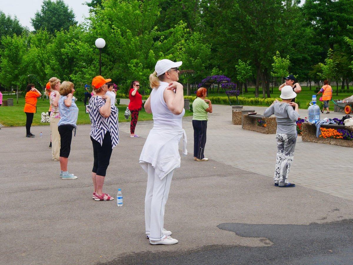 В парке имени Бориса Мозолевского