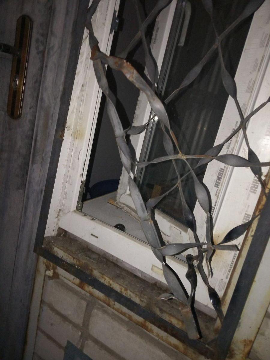 Взломали окно в магазине бытовой техники на Шевченко
