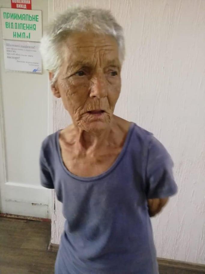 В Никополе нашли женщину, которая ничего не помнит