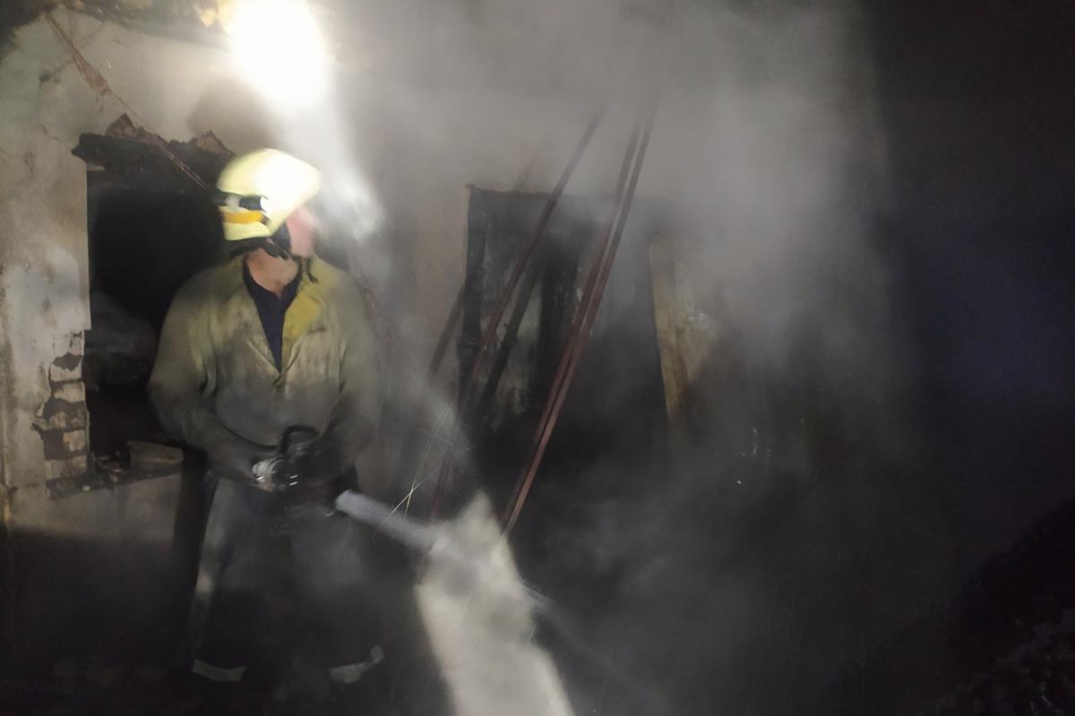 У Марганці сталася пожежа у приваті
