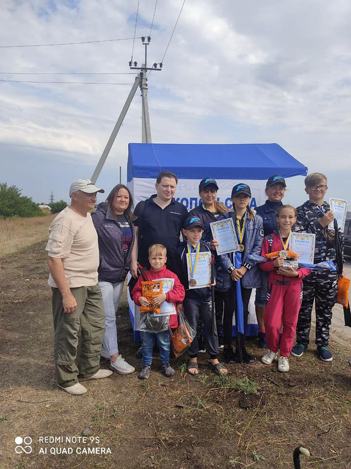 В Никополе прошел детский рыболовный фестиваль