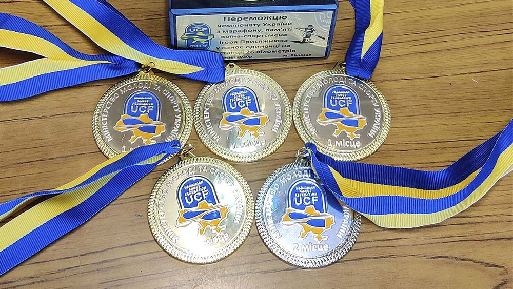 Спортсмены из Энергодара показали наилучшие результаты в соревнованиях по гребле