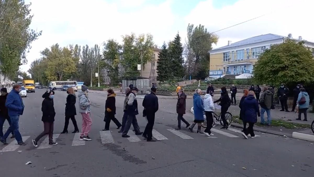 У марганці протести через лазню - фото