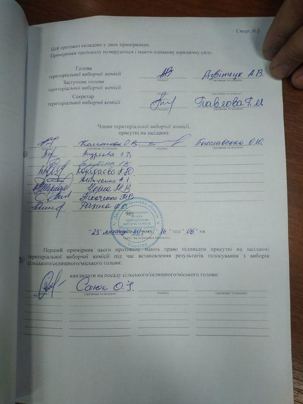Озвучены официальные результаты выборов на пост мэра Никополя, фото-5
