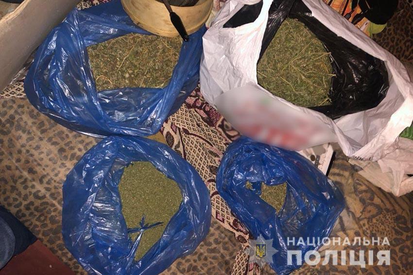 У жителя Никополя изъяли наркотики на сумму 400 тысяч гривен