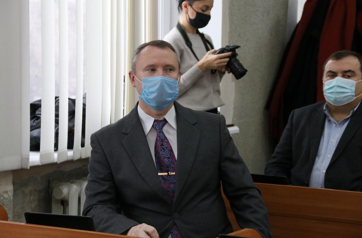 Депутаты Виталий Журавлев и Евгений Бовкун