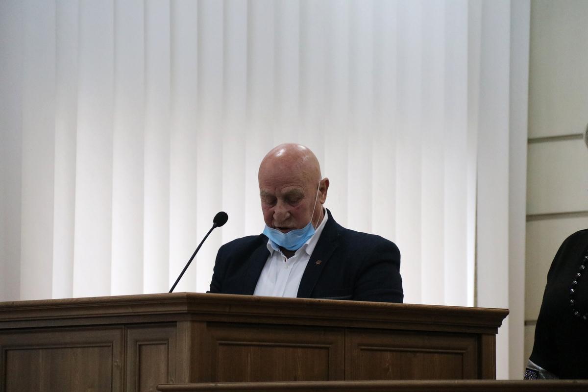 Анатолий Доброродний зачитал присягу от имени всех депутатов