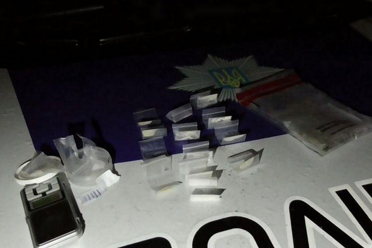 У жителей Никополя изъяли наркотики