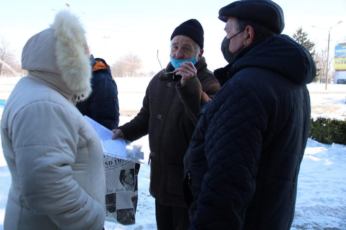 Свои требования люди хотят лично вручить депутатам верховной рады Украины
