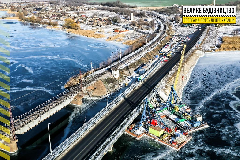 Як зараз виглядає новий міст в Олексіївці?