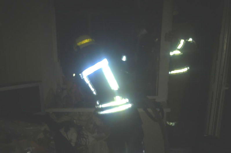 В Никополе 56-летний хозяин квартиры пострадал во время пожара , фото-1