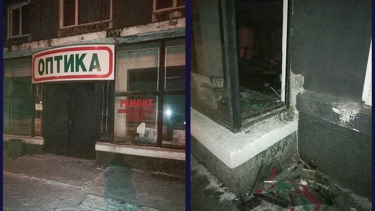 В Никополе двое молодых людей похитили из помещения бывшего магазина батареи