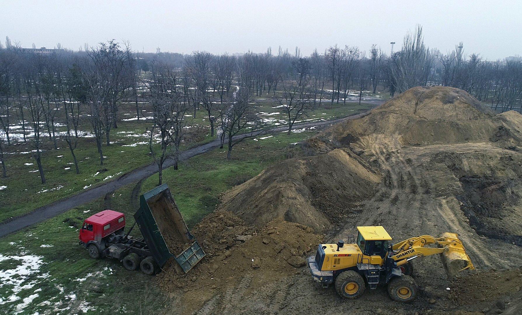 В парке Победы появится современный спортивный комплекс