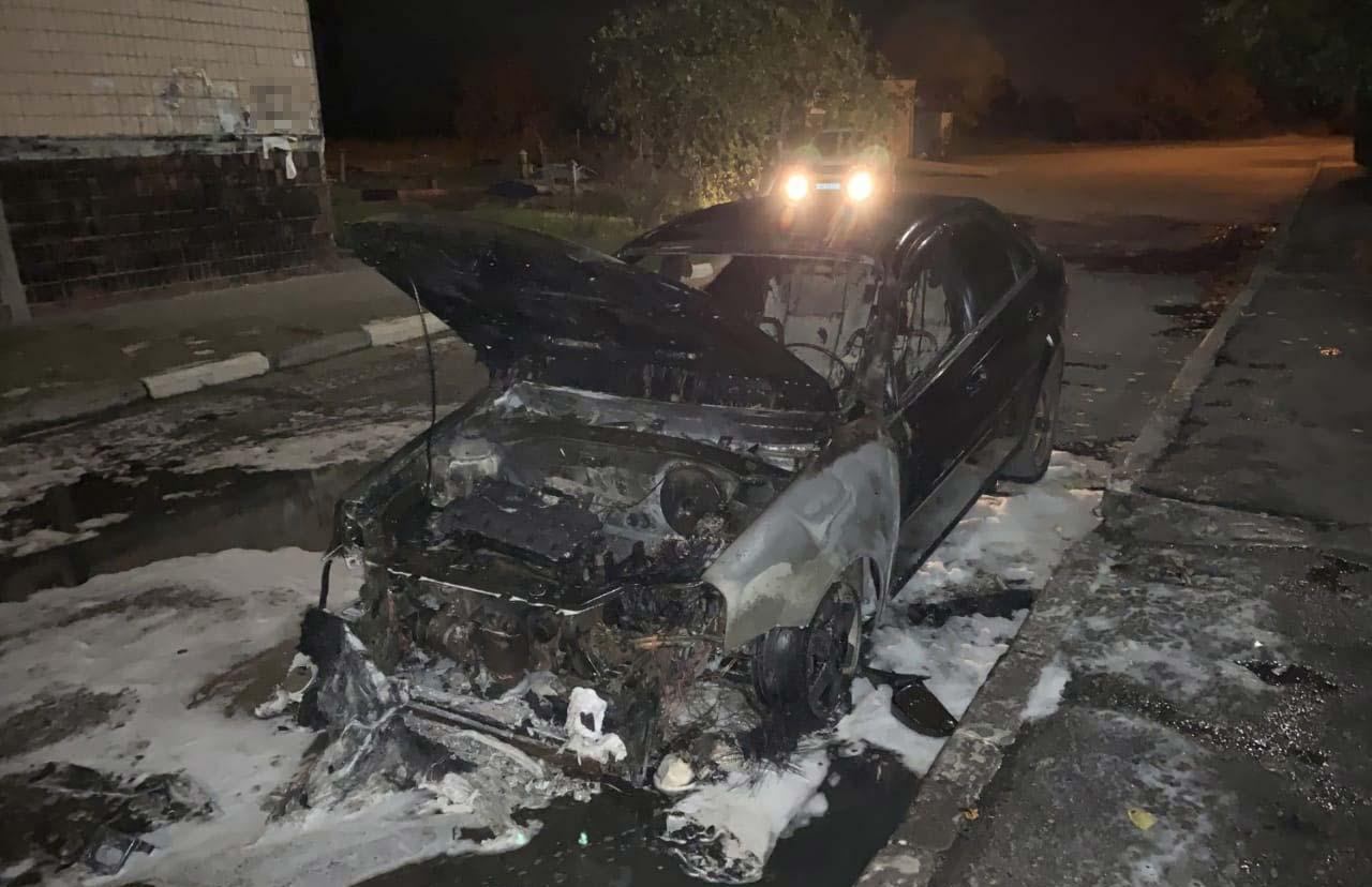 Полиция задержала поджигателей автомобилей