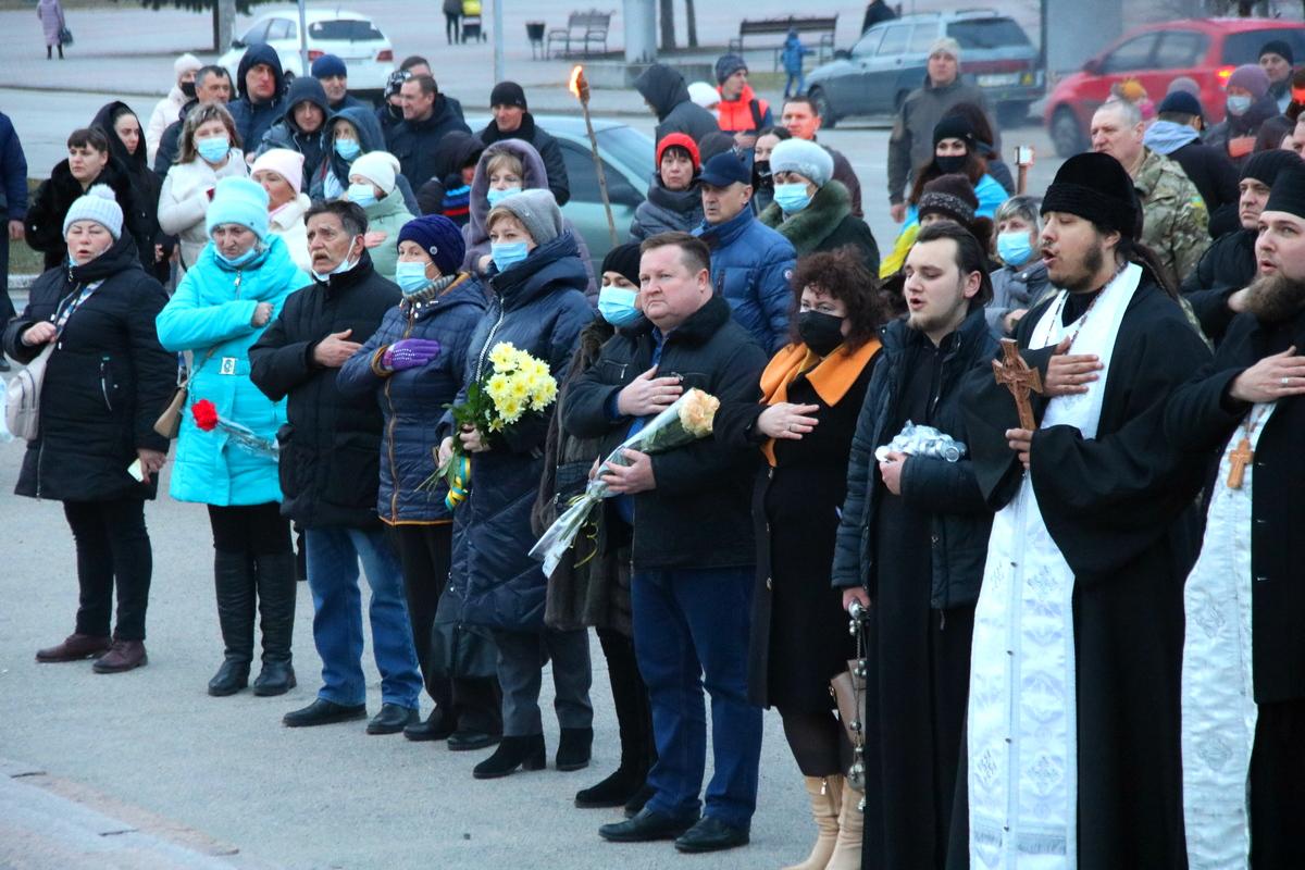 День украинского добровольца отметили в Никополе, фото-24