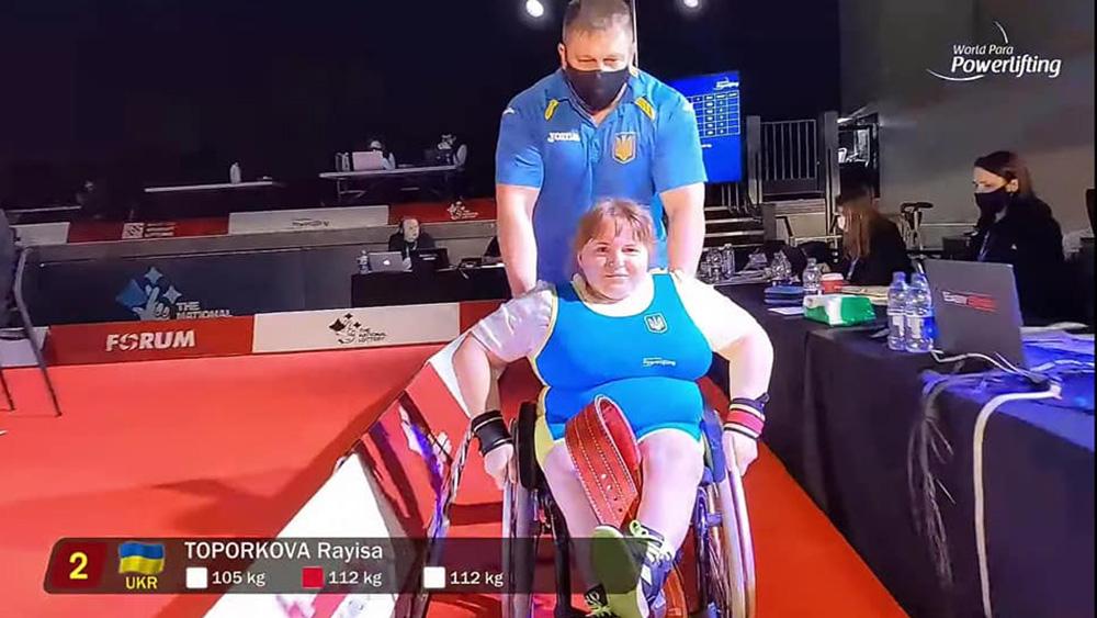 Раиса Топоркова получила «серебро»