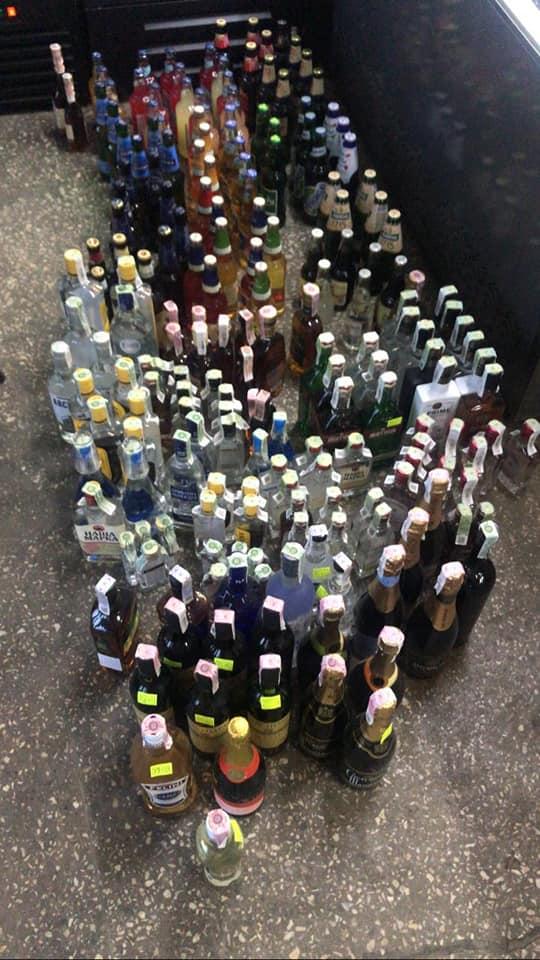 Изъято более 100 литров контрафактного алкоголя