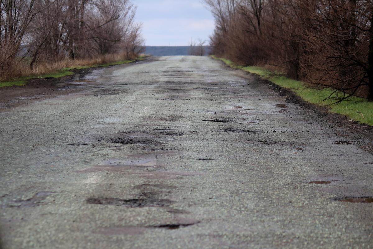 Состояние объездной дороги через село Старозаводское